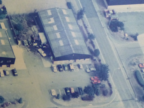 Aerial Photo taken in the 1980's